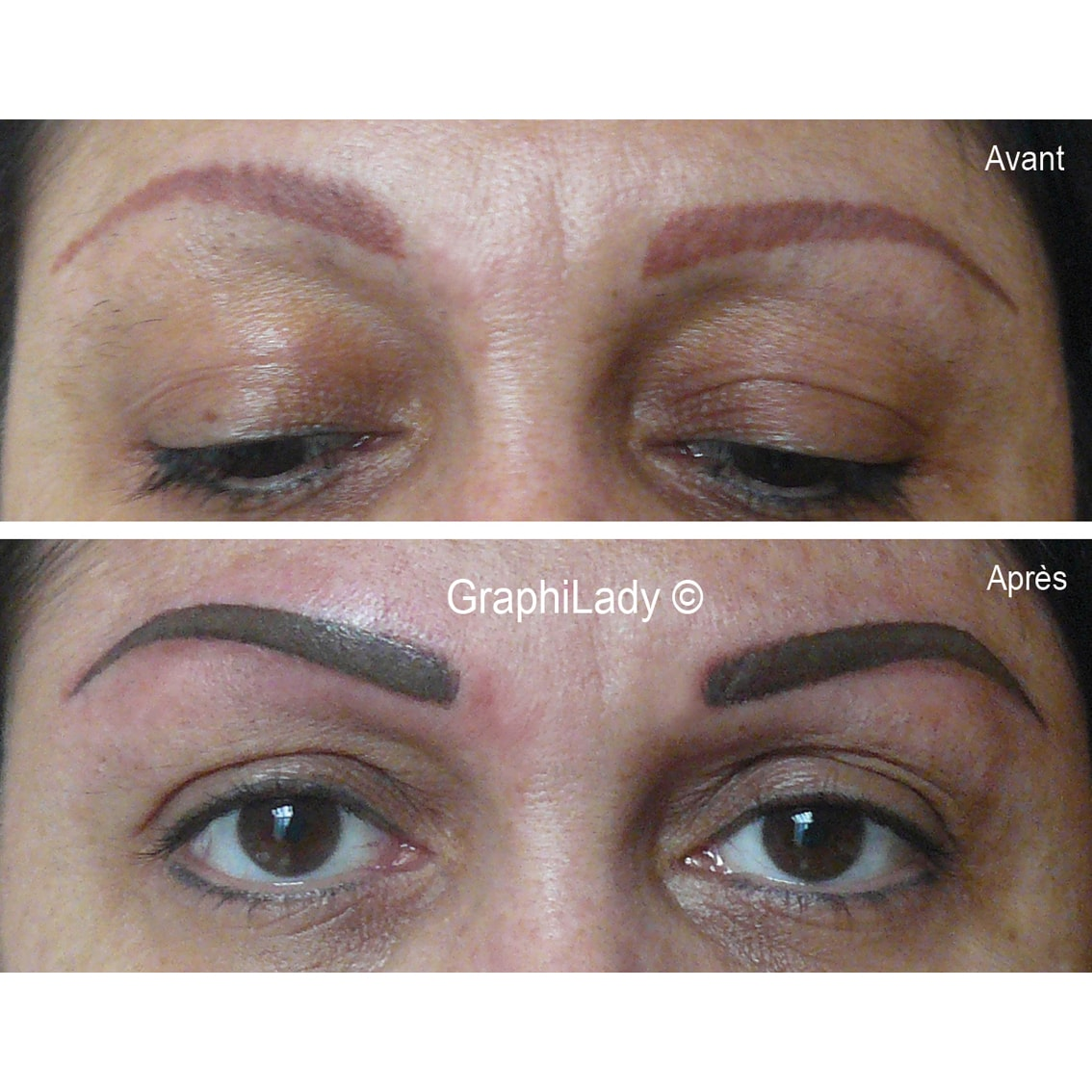 maquillage semi-permanent Recouvrement 08