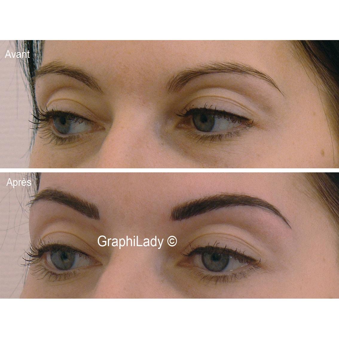 maquillage semi-permanent Sourcils 00