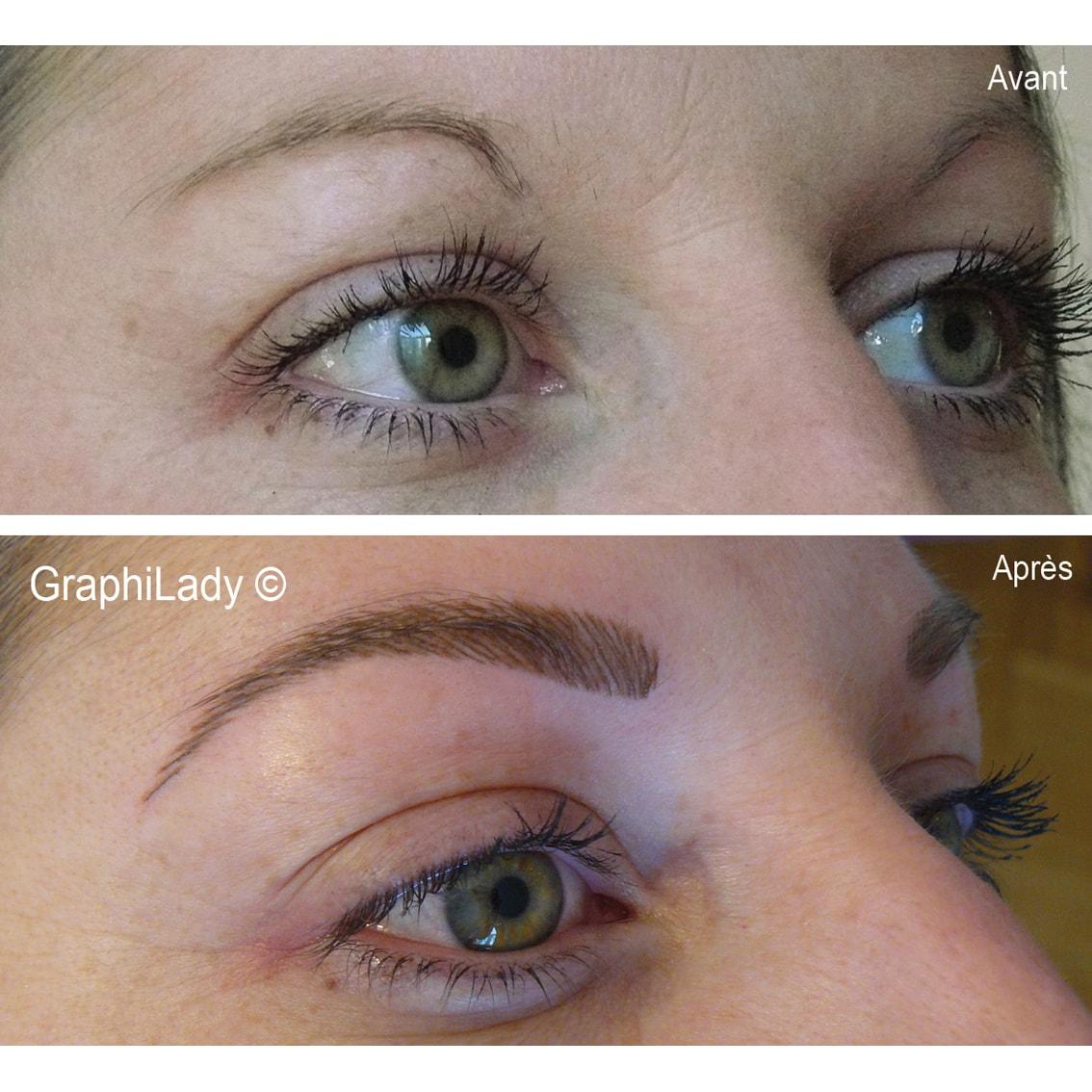 maquillage semi-permanent Sourcils 02
