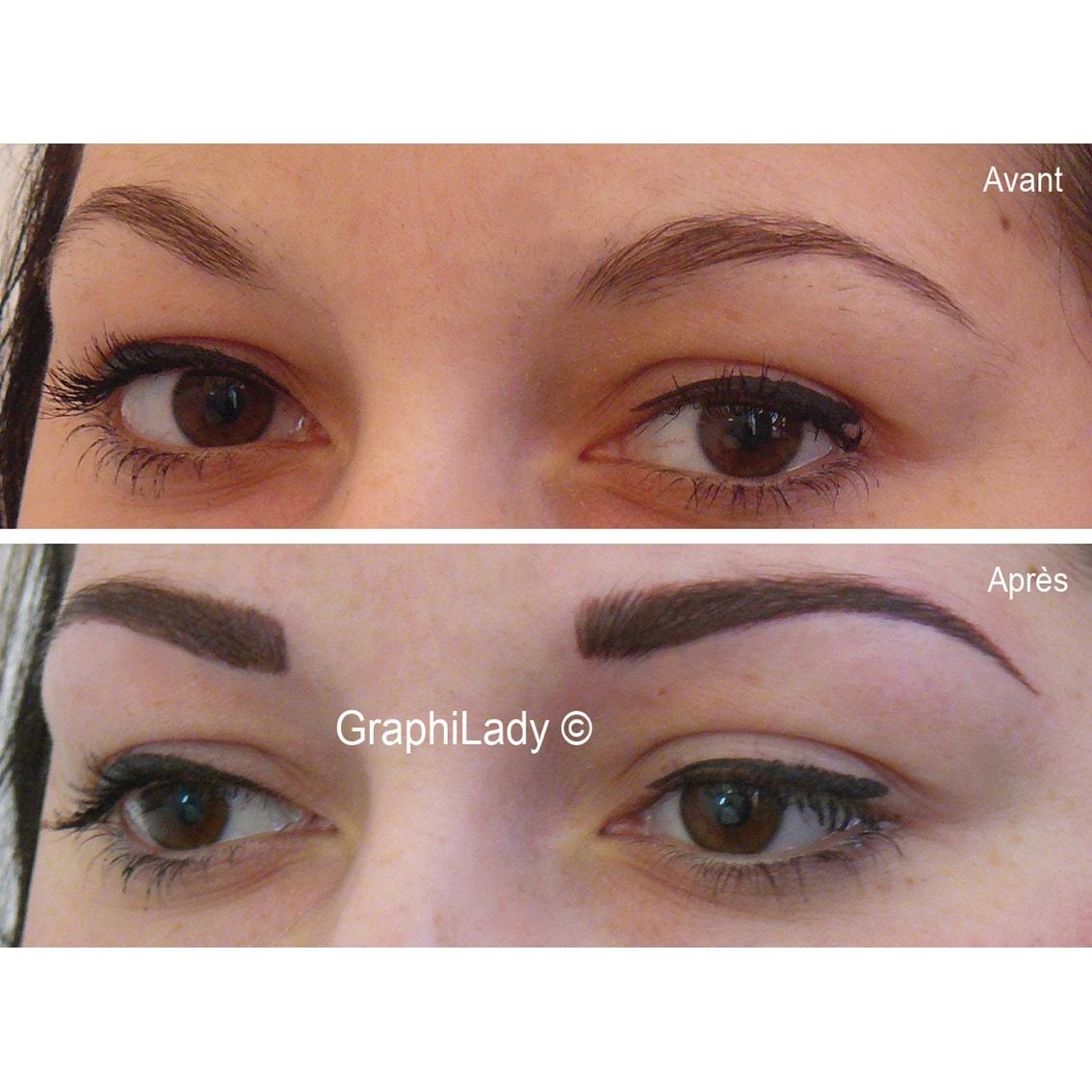 maquillage semi-permanent Sourcils 03