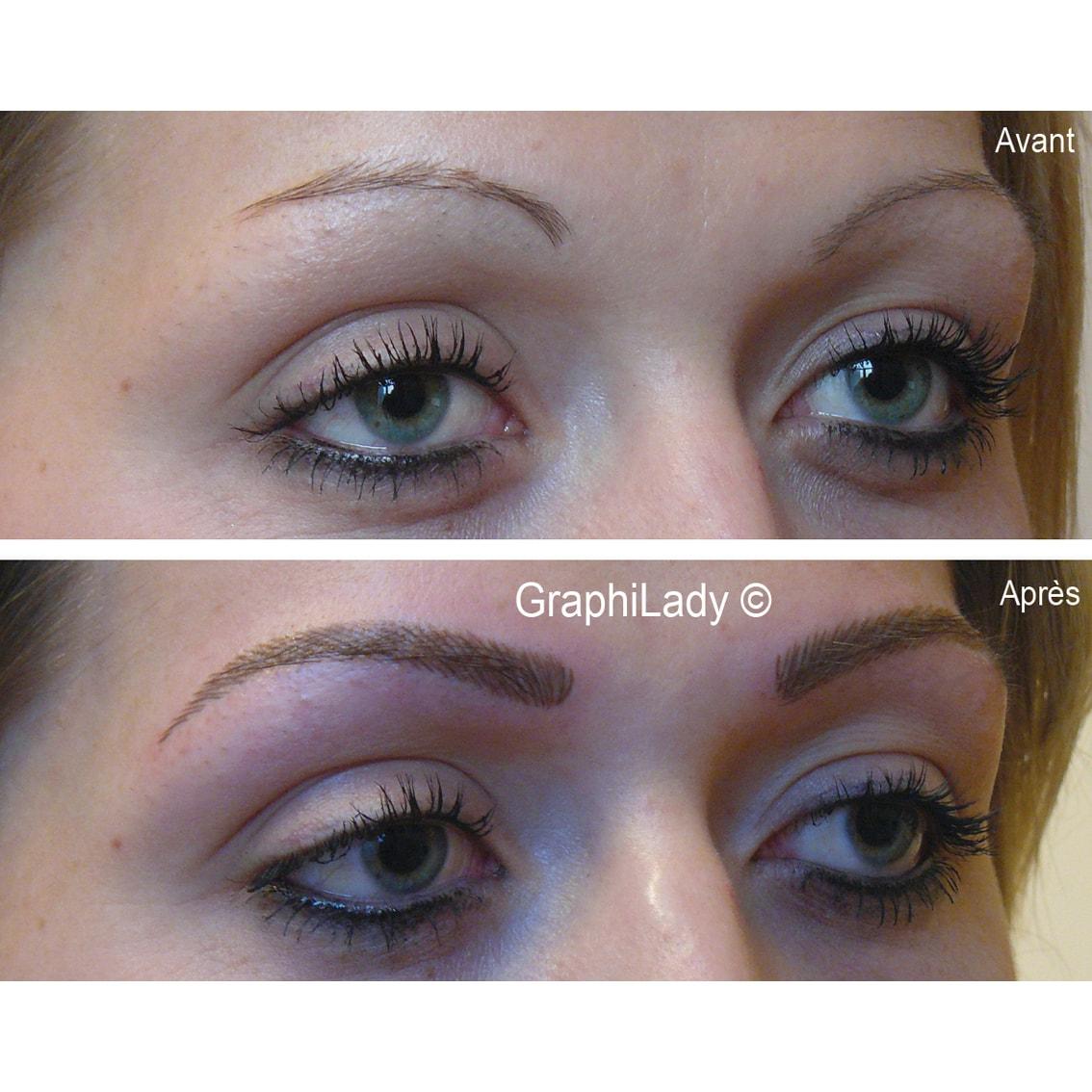 maquillage semi-permanent Sourcils 04