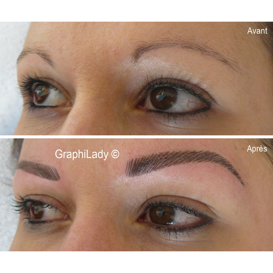 maquillage semi-permanent Sourcils 06